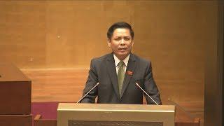 Bộ trưởng Bộ GTVT giải trình ý kiến đại biểu về xây dựng đường bộ cao tốc trên tuyến Bắc - Nam