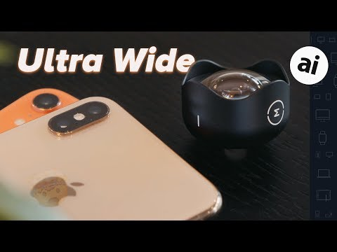 Adding an Ultra-Wide Angle Lens on iPhone XS & XR