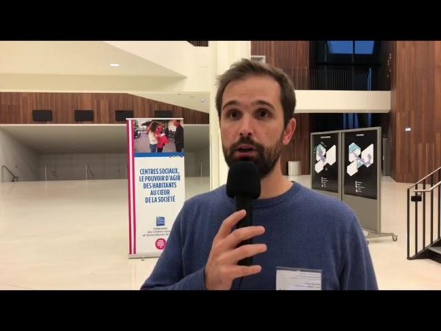 Interview de Simon Allard, directeur adjoint de centre social, JPAG 2018