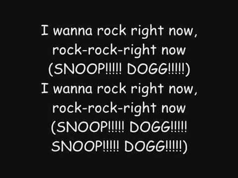 Snoop Dogg - I wanna Rock With Lyrics