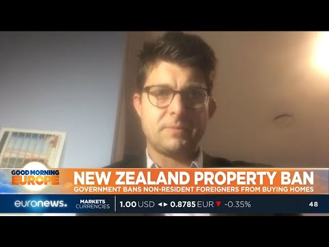 #GME | New Zealand's government is banning non-resident foreigners from buying homes.