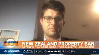 #GME | New Zealand's government is banning non-resident foreigners from buying homes. thumbnail