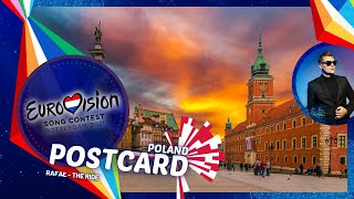Eurovision 2021: Poland's Postcard • Rafał - The Ride 🇵🇱