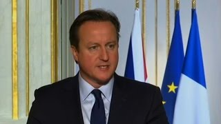 Cameron offers France use of British airbase in Cyprus