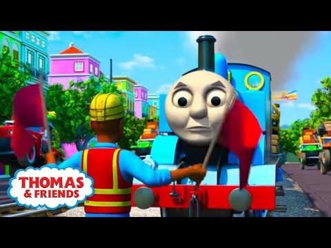 Free and Easy Karaoke Song | Big World! Big Adventures! | Thomas & Friends