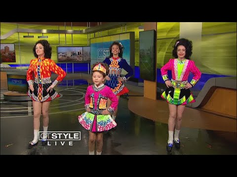 Doherty Petri School of Irish dancers shows us how to dance