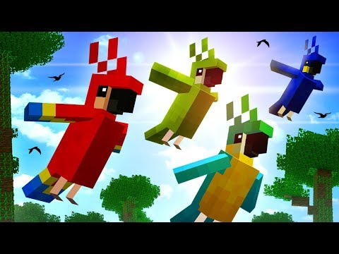 Everything You Need To Know About PARROTS In Minecraft!