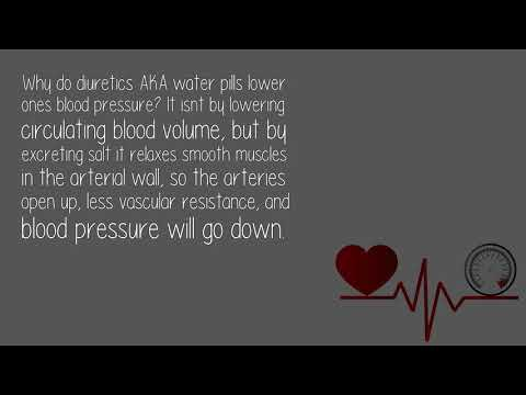How Helpful Are Water Pills When It Comes To Lowering Blood Pressure?