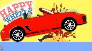 GIANT KILLER CAR? Happy Wheels! (Random Crap Friday)