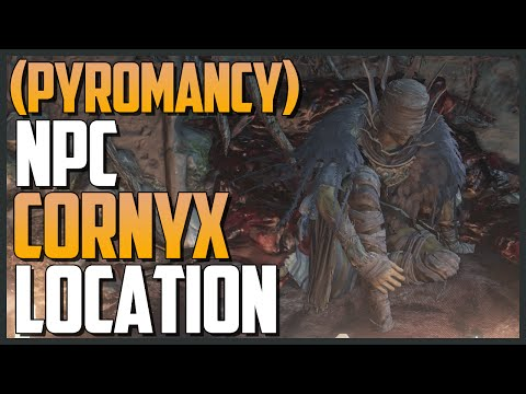 Dark Souls 3: Pyromancer Cornyx of the Great Swamp (How to buy Pyromancy/Flame)