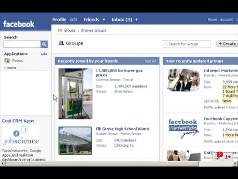 Social Networking 101 - Social Networking For Business - Video 3: Using Facebook for Networking