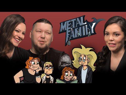 Metal Family. Интервью с создателями мультсериала Алиной Ковалёвой и Дмитрием ака Фёдором Кузмичём