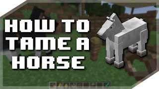 Download lagu How to tame a HORSE in Minecraft MP3