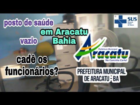 Posto de saúde vazio Em Aracatu cadê os funcionários?