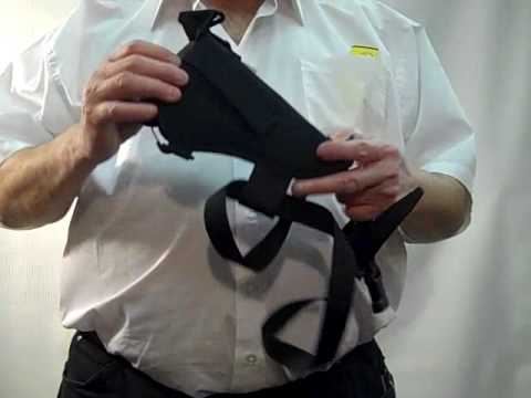 How To Wear A 3/Way Holster Bandolier , Shoulder , Belt