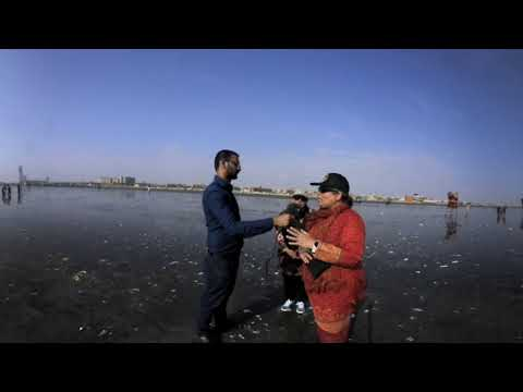 360°  'Oil slick' on Karachi beach: Here's what the experts say