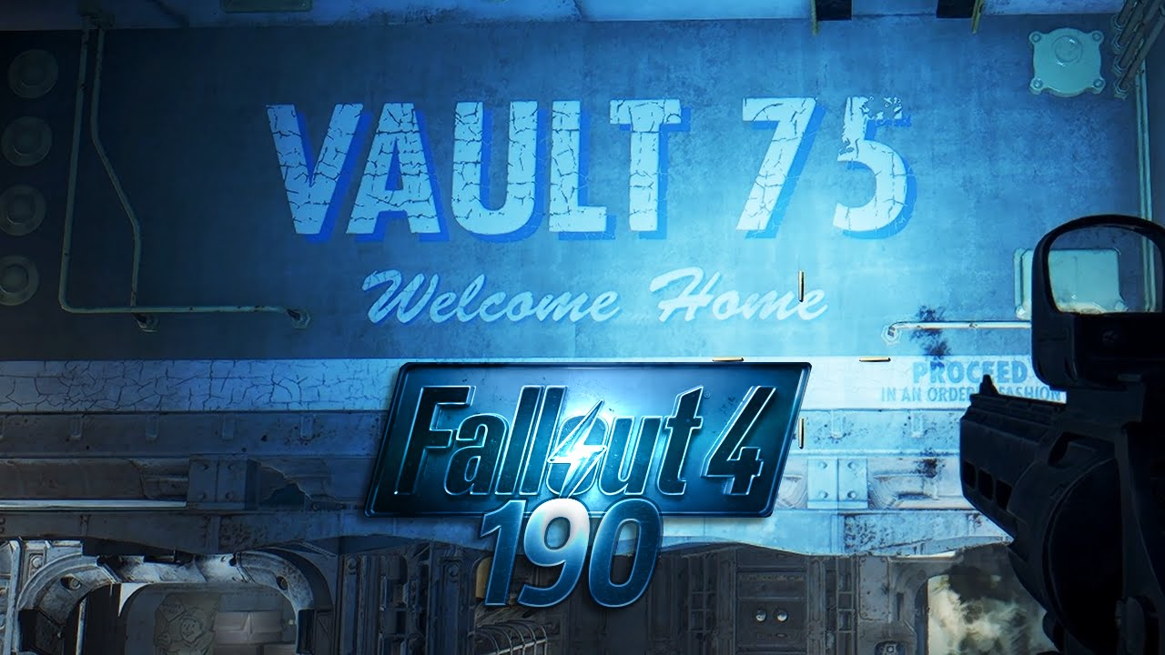 Fallout 4 190 Vault 75 Youtube