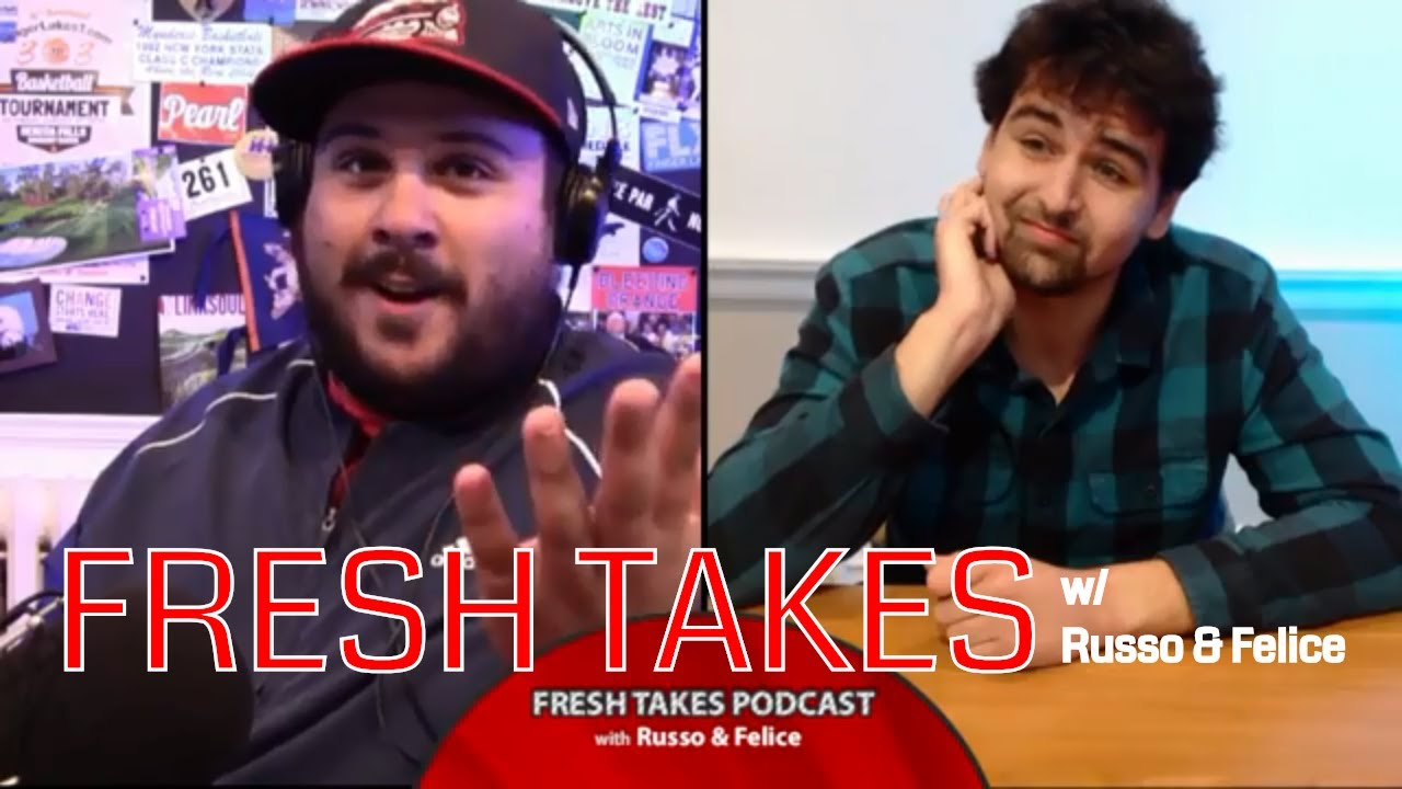 Football talk, NBA preview & Pete Davidson-Ariana Grande break-up .::. Fresh Takes w/ Russo & Felice 10/16/18