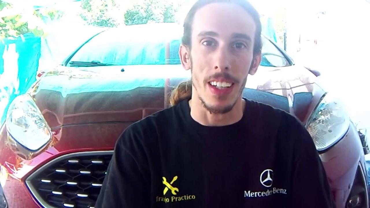 Como desarmar paragolpe delantero de Ford Fiesta Kinetic