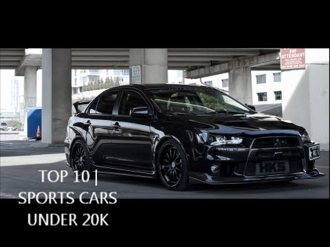 Elegant TOP 10| Sports Cars Under 20K   YouTube