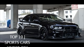 TOP 10| Sports Cars Under 20K