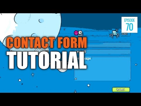 JMS070: How to Create a Contact Form Using PHP