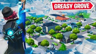 NEW GREASY GROVE + MOISTY PALMS RIFT ZONES! // Use Code: byArteer (Fortnite Battle Royale LIVE)
