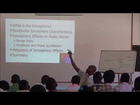 Space Physics Lecture - Ionosphere Effects to GNSS