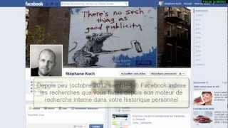 Facebook garde des traces de vos recherches dans votre