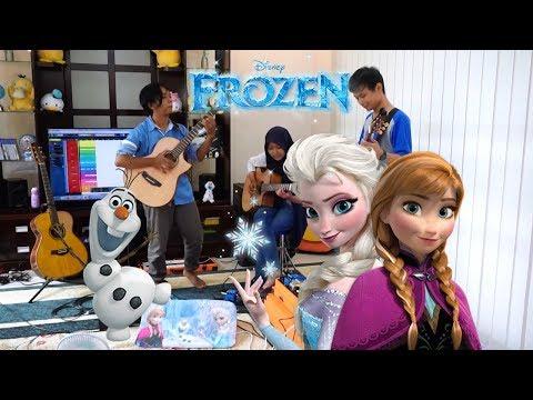 Disney's Frozen - Let It Go [FINGERSTYLE GUITAR TRIO]