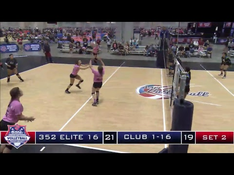 June 25, 2017:  Court 42 AAU Volleyball Nationals