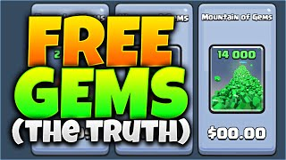 One of Eclihpse's most viewed videos: 'FREE GEMS' IN Clash Royale!? THE TRUTH ABOUT FREE GEMS! (MUST WATCH!)