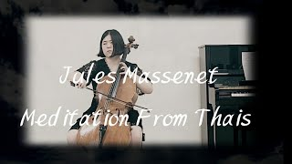 Meditation From Thais Massenet Zenith-Juhye Hwang Cello Ju-Eun Kim Piano 마스네 타이스의 명상곡 황주혜 첼로 김주은 피아노