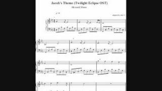 jacobs theme twilight eclipse ost howard shore sheets