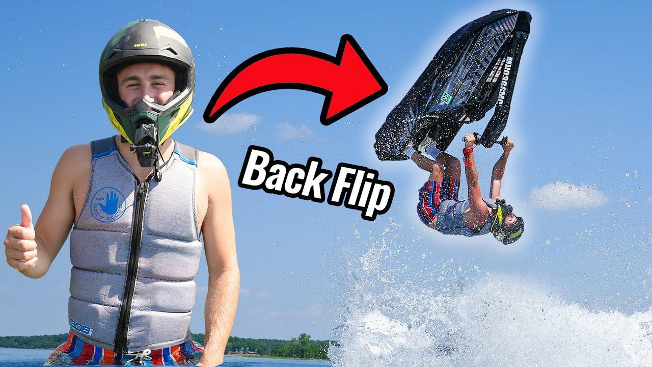 Learning to Backflip my Jet Ski