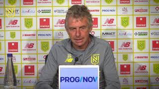 Christian Gourcuff avant RC Strasbourg - FC Nantes
