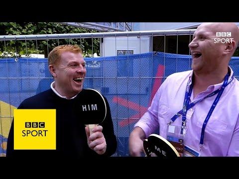 Euro 2016: Him & Me: John Hartson & Neil Lennon - BBC Sport
