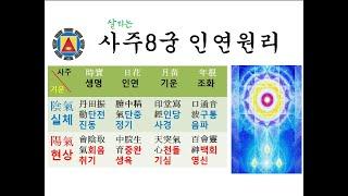[사주8궁 인연개운법656 ] 사주팔자 고치는 영기걷기 원리2
