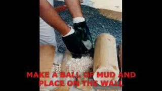 How I Built Our Cordwood/Stackwall Cottage - Part 1 of 2
