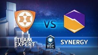 HGC EU - Phase 1 Part 2 - Game 3 - Synergy v Team expert