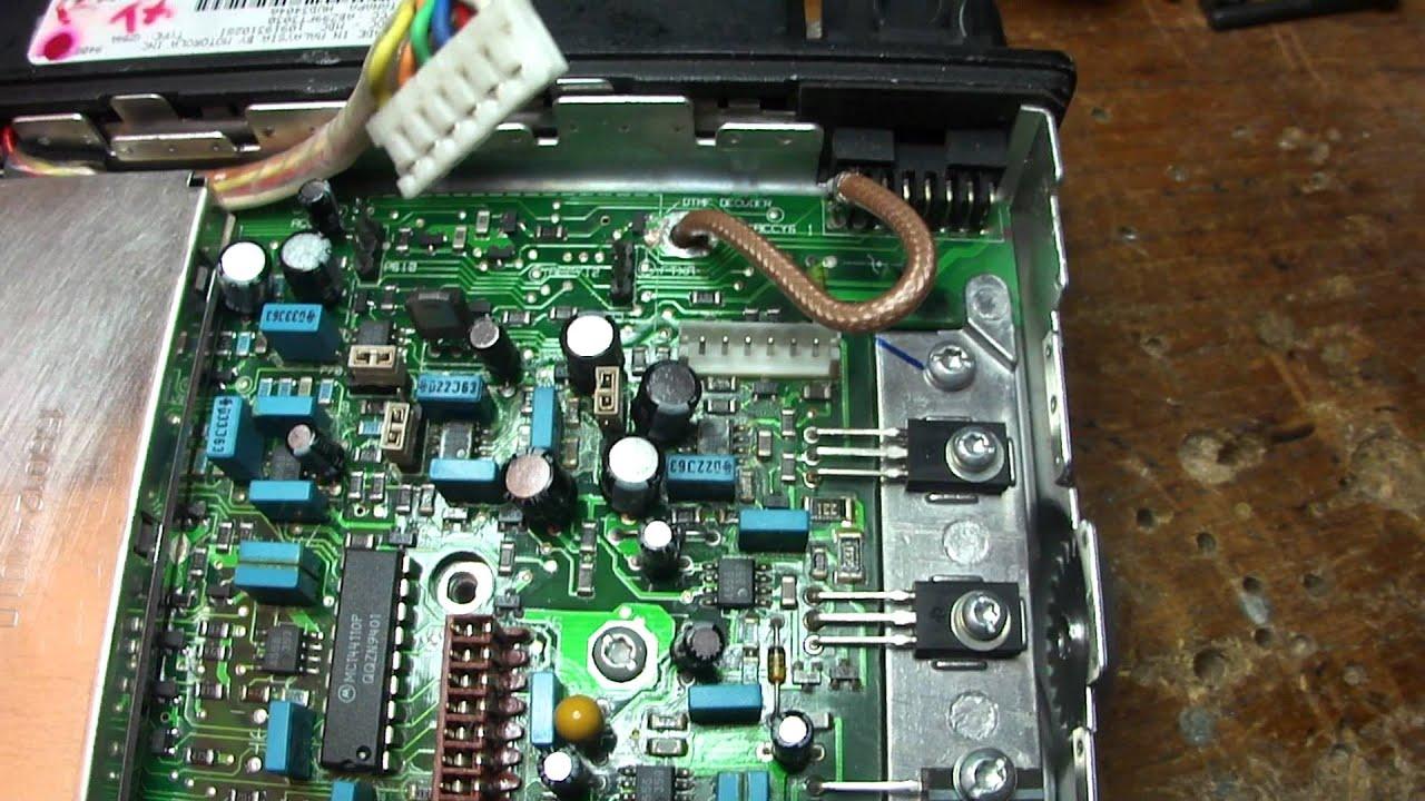 Gm300 Motorola Dstar Tx Audio Connection Youtube