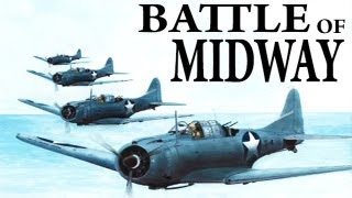 The Battle of Midway (4-7 June 1942) USA vs. Japan_WWII Film in Color_Full Length War Footage