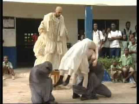 Mystorin theater group-Tzar Tzura - Togo Africa-part1