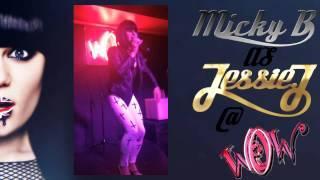 Micky Bowyer as Jessie J @ Wow Bar. 8/8/2013