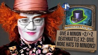 HATS FOR EVERYONE! Mad Hatter Hunter! | Wizard Duels | Hearthstone