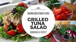 GRILLED TUNA SALAD Recipe | Easy & Delicious