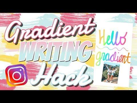 Unlock Gradient Pen for Instagram Story