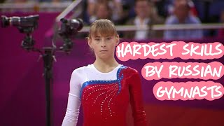 6 of the Hardest Skills by Russian Gymnasts (requested video)