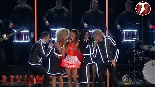 ariana grande cma 2014 ariana grande and little big town performance bang bang cma awards review