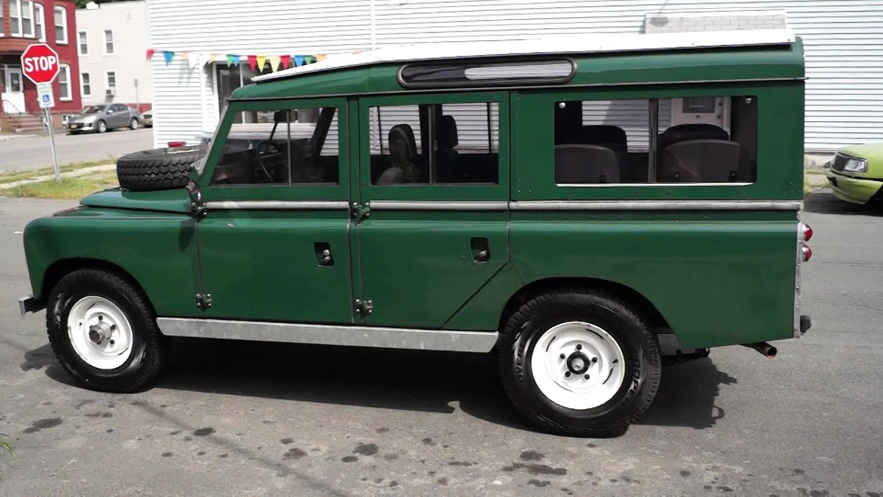 Land Rover 109 Resto Mod by Automotion Classics
